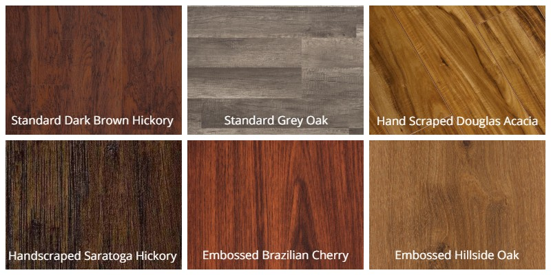Trafficmaster Textured Laminate styles