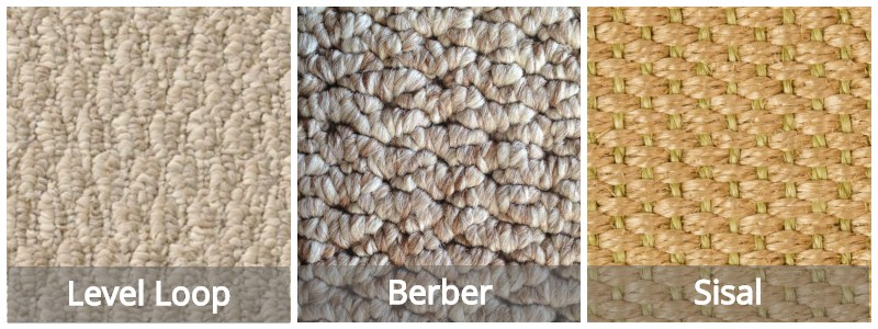 Carpet Loop Types