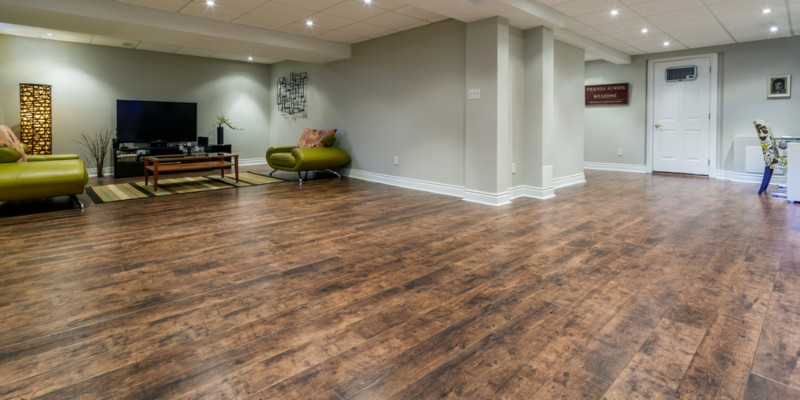 What The Best Flooring For Basement Rubber Vinyl Laminate Clarity