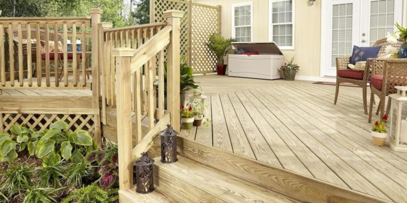 Lowes Severe Weather Premium Treated Deck Board