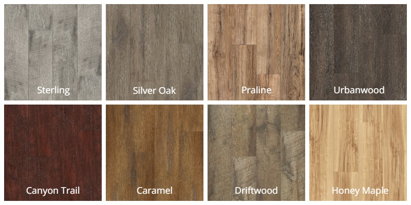 Select Surfaces Woodgrain Textured Laminate Flooring