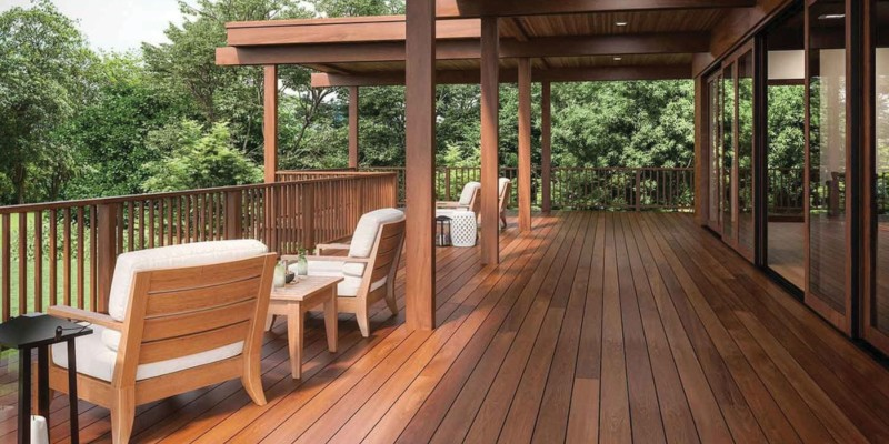 Yard & Home Premium S4S Ipe Wood Decking