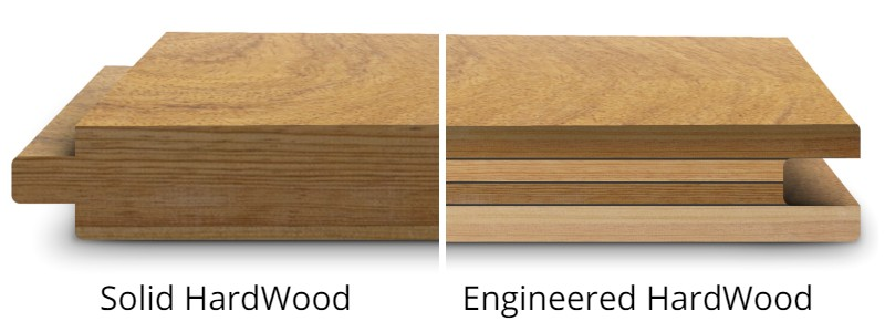 Solid Hardwood vs. Engineered Flooring