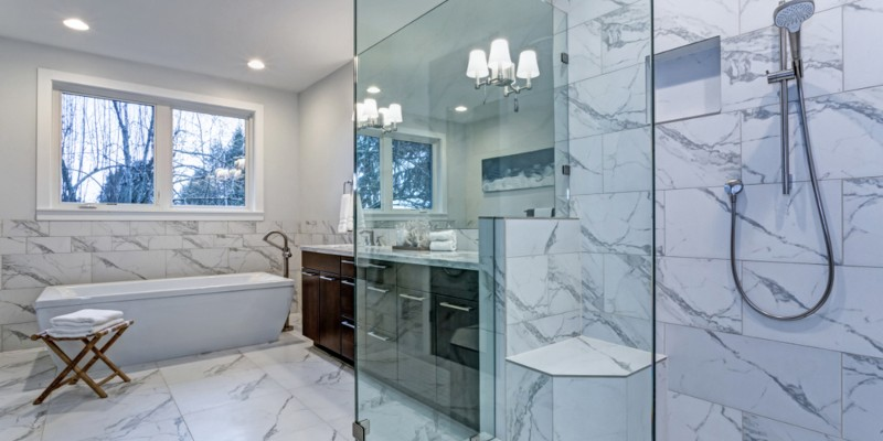 Best Tile For Showers And Bathrooms Ceramic Porcelain Or Stone