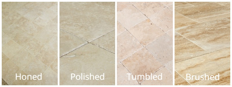 Travertine Tile Finishes