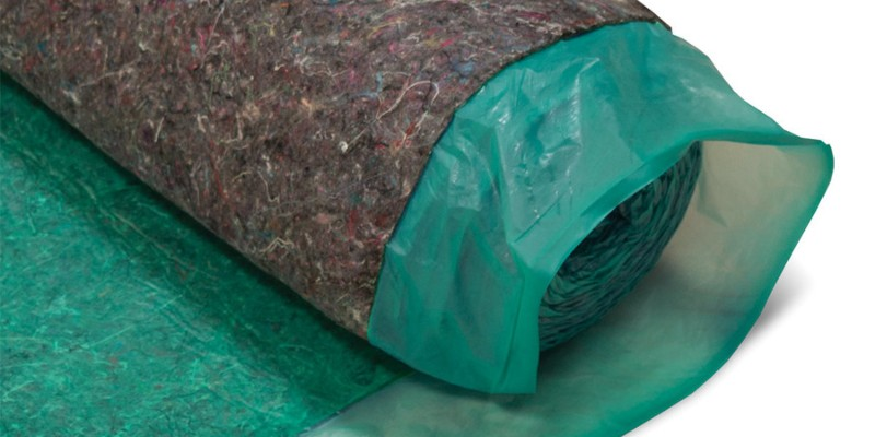 Cali Bamboo recycled fiber underlayment