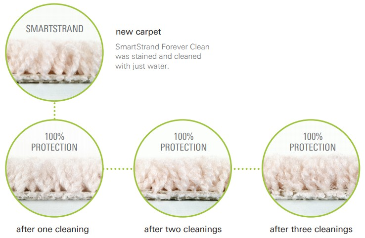 SmartStrand Forever Clean with Built-in Protection