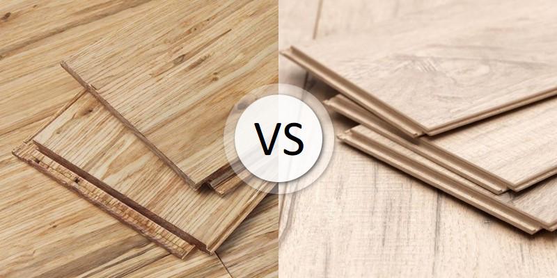 Hardwood Vs Laminate Flooring, Laminate Flooring Compared To Hardwood