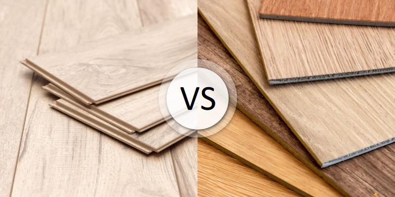 Laminate Vs Vinyl Flooring, Laminate And Vinyl Flooring