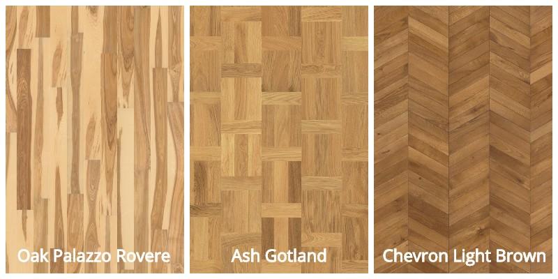 Kährs Hardwood Flooring Colors