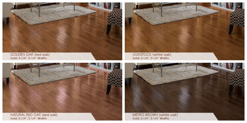 Somerset Hardwood Flooring Colors