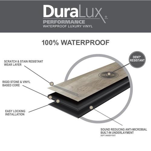 DuraLux Vinyl Plank Flooring Construction