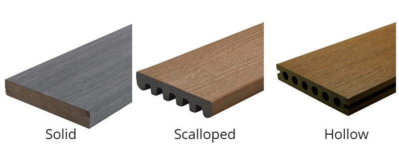 Composite Deck Board Profiles