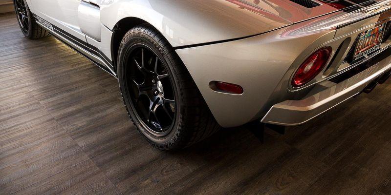 RaceDeck Smoked Oak Flooring Tiles