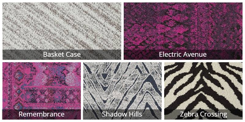Flor Carpet Patterned Examples
