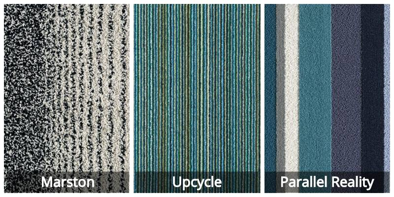 Flor Carpet Striped Examples