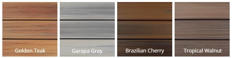 DuraLife Decking Hardwoods Collections