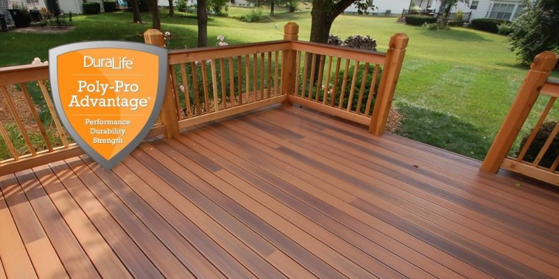 DuraLife Decking Polypro Construction