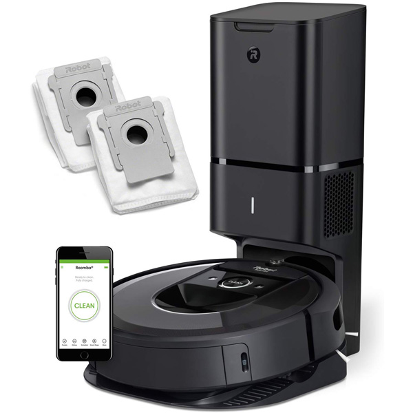 iRobot Roomba i7+ Connected Robot Vacuum
