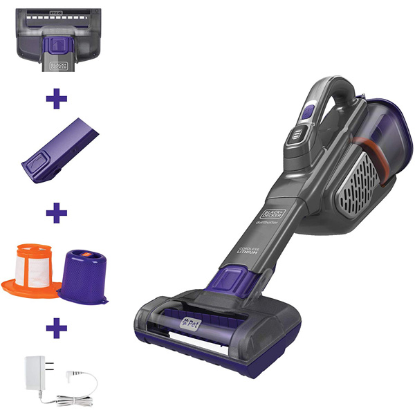 Black+Decker AdvancedClean+ Handheld Vacuum