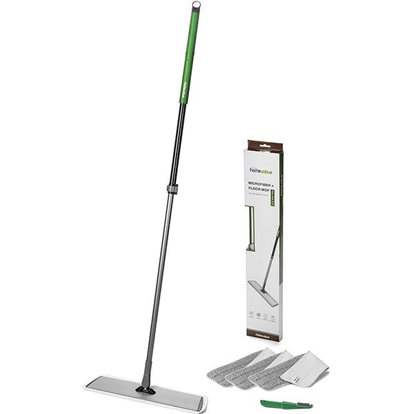 Homevative Stainless Steel Microfiber Floor Mop