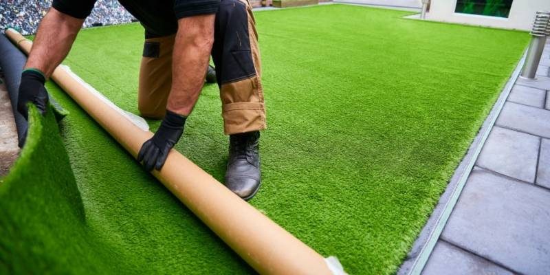 Outdoor Grass Flooring