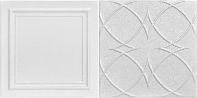 A La Maison Styrofoam Ceiling Tiles