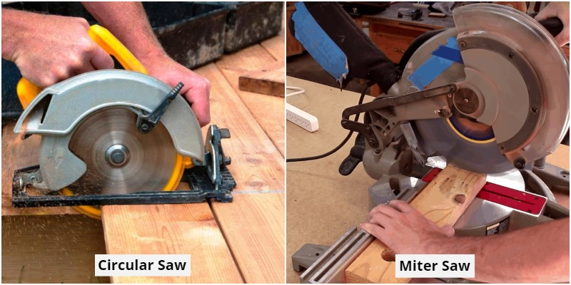 Circular Saws vs Miter Saws