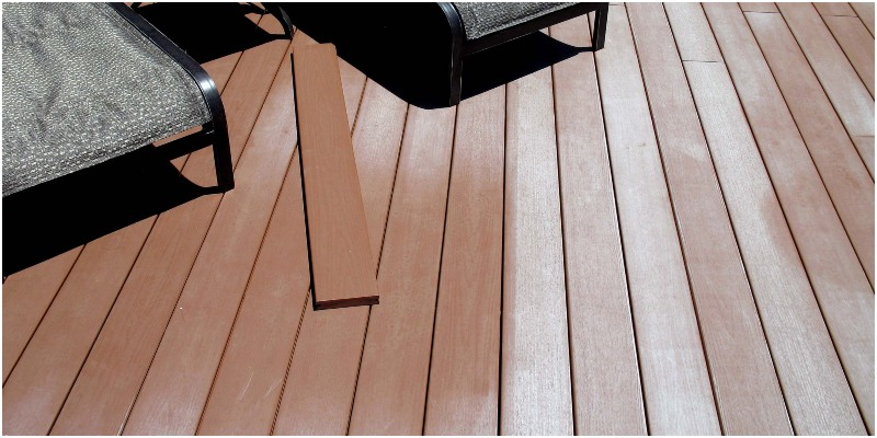 Color Fading on Composite Decking