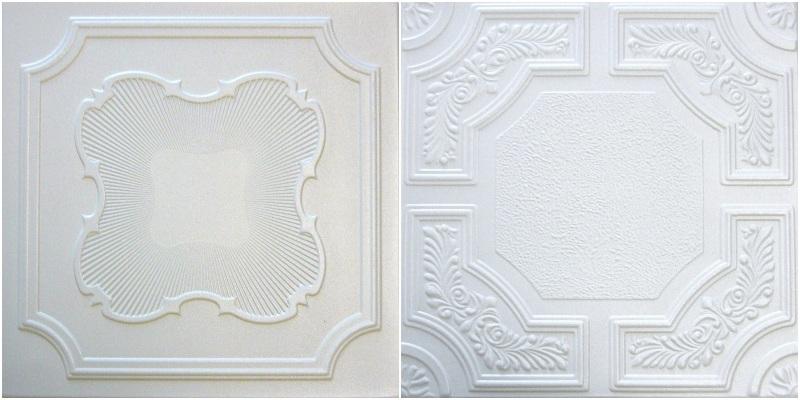Euro Styrofoam Ceiling Tiles