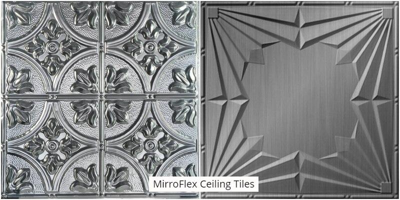 MirroFlex Ceiling Tiles