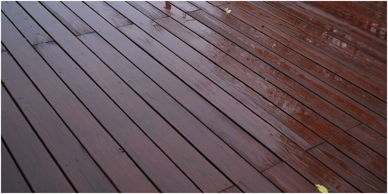 Standing Water on Decking