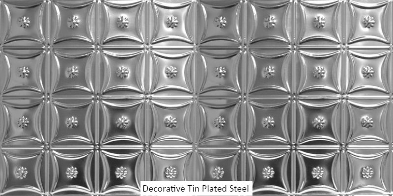 decorative- tin-plated