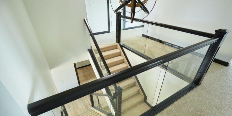 Dadoed Glass Railing