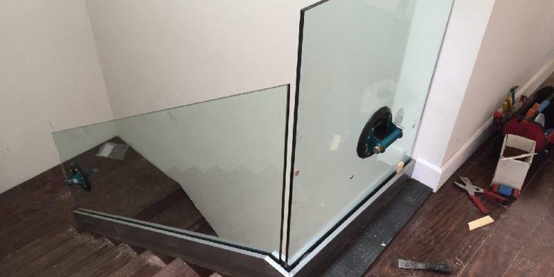 Glass Railing Install