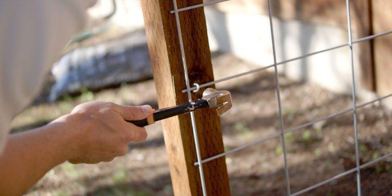 install hog wire