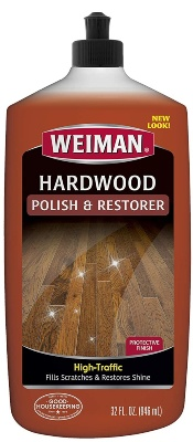 Weiman wood floor polish